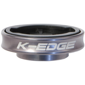 K-EDGE Gravity Top Cap Holder Til Garmin, silver